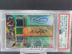 Osweiler Nick Foles Russell Wilson 2012 Triple Threads Patch Auto /18 #12 Rookie