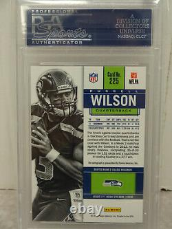 PSA 10 2012 Contenders Rookie Ticket #225 Russell Wilson Seahawks ON CARD Auto