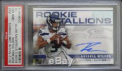 Psa 10 2012 Contenders Russell Wilson #20 01/25 Rookie Stallions Auto Seahawks