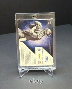 RUSSELL WILSON 2012 Absolute War Room Jersey Autograph Auto RC 24/49 Seahawks
