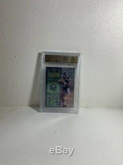 RUSSELL WILSON 2012 Contenders RC Auto Playoff Ticket #/99 BGS 9.5/10 Gem Mint