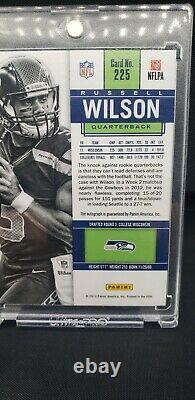 RUSSELL WILSON 2012 Panini Contenders RC Rookie Ticket Auto Seahawks