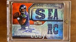 RUSSELL WILSON 2012 Topps Triple Threads Autograph Rookie RPA R/C auto /99