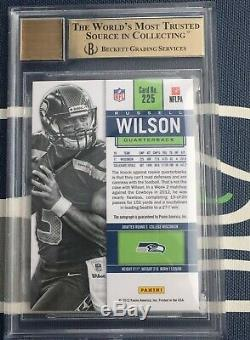 RUSSELL WILSON AUTO 2012 CONTENDERS Rookie Ticket RC BGS 9.5 10 AUTOGRAPH Gem+