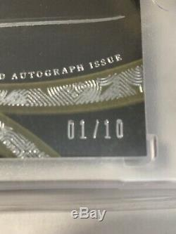 Russell Wilson #1/10 2014 Topps Five Star Silver Signature Auto Autograph