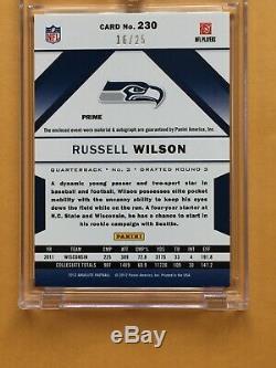 Russell Wilson 2012 Auto/jersey Rookie