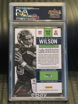 Russell Wilson 2012 Contenders PSA 10 Rookie Ticket Autograph Gem Auto Qty RC