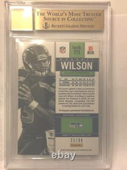 Russell Wilson 2012 Contenders Playoff Ticket Auto RC 22/99 BGS 9.5/10 Gem Mint
