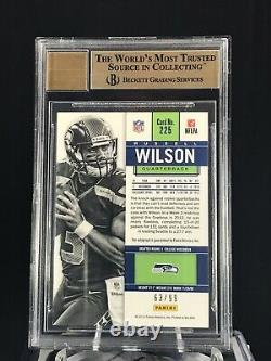 Russell Wilson 2012 Contenders Playoff Ticket Auto RC 63/99 BGS 9.5/10 Gem Mint