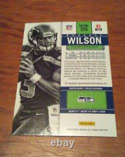 Russell Wilson 2012 Contenders RC Auto