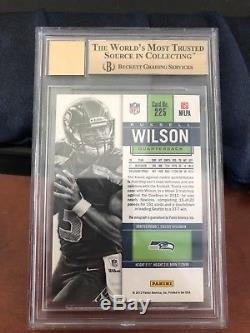 Russell Wilson 2012 Contenders Rookie Ticket Auto RC #/550 BGS 9.5/10 Auto #225A