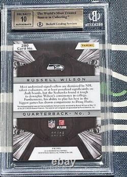 Russell Wilson 2012 Crown Royale RPA Rookie Card RC BGS 9.5 10 AUTO #/25
