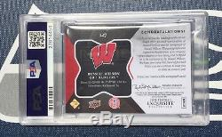 Russell Wilson 2012 Exquisite Gold Psa 10 Rookie Card Rc Auto Patch Rpa #/50 Wow