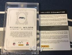 Russell Wilson 2012 NATIONAL TREASURES 1 of 1 AUTO JERSEY Rookie Card 325 RC 1/1