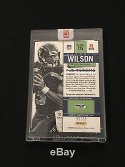 Russell Wilson 2012 Panini Contenders Playoff Rookie Ticket Autograph 96/99 Auto