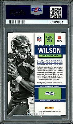 Russell Wilson 2012 Panini Contenders RC Seahawks PSA 9 Gem 10 Auto PSA 58389881