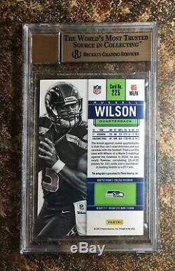 Russell Wilson 2012 Panini Contenders Rookie Auto /550 BGS 9.5/10