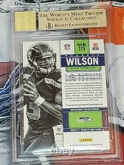 Russell Wilson 2012 Panini Contenders Rookie Autograph Auto SP /550 BGS 9.5 RC
