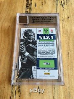 Russell Wilson 2012 Panini Contenders playoff ticket Auto rc /99 Seahawks