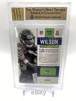 Russell Wilson 2012 Panini Playoff Contenders Championship 1/1 Auto Rc