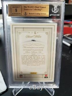 Russell Wilson 2014 Panini Flawless Patch Auto BGS 9.5 16/25 Made