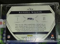 Russell Wilson 2015 Immaculate Premium Patch Auto 22/25 SEAHAWKS 4 CLR