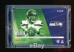 Russell Wilson 2018 Panini Absolute Tools Of The Trade Patch Ball Auto #d 1/1