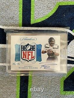Russell Wilson 2019 Flawless Shield Auto 1/1