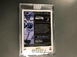 Russell Wilson 2019 Panini One & One Auto Autograph 12th Man Patch #2/3 Seahawks