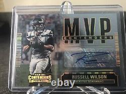 Russell Wilson 2020 contenders Mvp Auto 3/5 Jersey Number 1/1