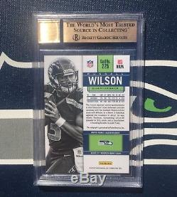 Russell Wilson Autograph Rc 2012 Contenders Rookie Ticket Auto Bgs 9.5 Seahawks