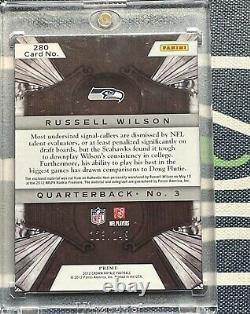 Russell Wilson INVESTORS LOT 12 Rookie Cards (PSA 10) 2012 Rookie Auto #/149