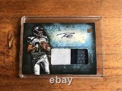 Russell Wilson Inception Rookie Auto Jersey Seattle Seahawks Topps