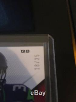 Russell Wilson Rookie Auto RC #'d 18/25 From 2012 Momentum