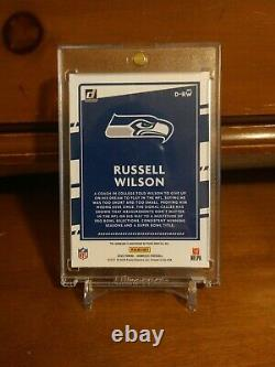 Russell Wilson SSP Auto 1/5 First Print! Seattle Seahawks
