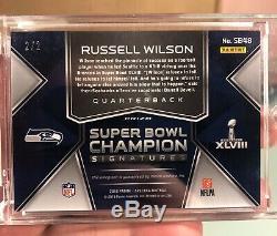 Russell Wilson Spectra Super Bowl Champion Nebula Auto 2/2