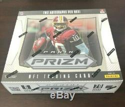 Sealed 2012 Panini Prizm Football Box Brady Silver Wilson Auto Top Sports Cards