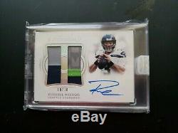 2018 Impeccable Russell Wilson Dual Patch Auto 10/10 Ssp
