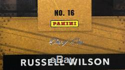 2019 Nationals Panini Vip Gold Russell Wilson Vert Prizm Auto # 1/1