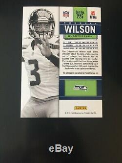 Candidats Panini 2012 Russell Wilson Variante Billet Variation Ticket Ssp Automatique Seulement 25
