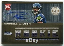 Or Totalement Certifié 2012 230 Russell Wilson Rookie Patch Auto 1/25