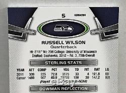 Réfracteur Automatique Rc À Prisme Automatique Bowman Sterling Russell Wilson N ° 15 - 2012