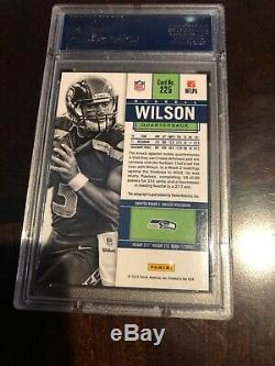 Russell Wilson Psa Gem 10 Mint 2012 Panini Contenders Rookie Ticket Auto / 550 Rc